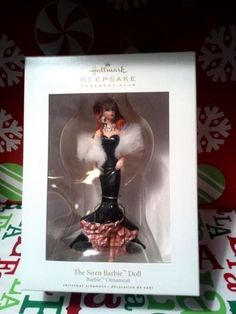 "2009 Hallmark Ornament Club Barbie ""The Siren Barbie Doll"""