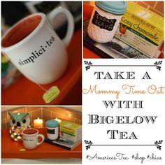 Take a Mommy time out with Bigelow Tea and an at home spa treatment!  #AmericasTea  #shop #cbias