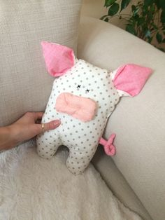 Handmade pig