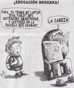 Educación moderna....