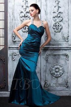 #TBDress - #TBDress Halter Floor-Length Mermaid Ruffles Evening/Pageant Dress - AdoreWe.com