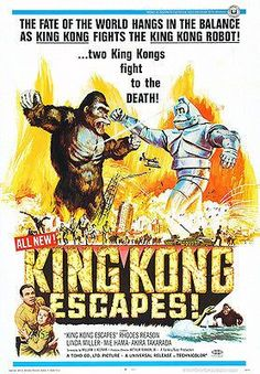King Kong Escapes - 1967 - Movie Poster