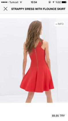 Little red dresses by Zara