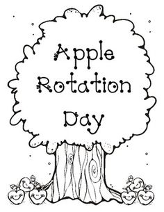 To end Johnny Appleseed or an Apple unit use the fun interactive apple rotations with your class. ...