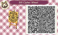 Bill Cipher Wheel- Animal Crossing