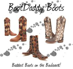 """BootDaddy"" by pfiwestern on Polyvore"