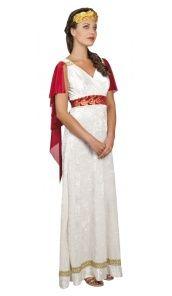Costume de Vestale Romaine