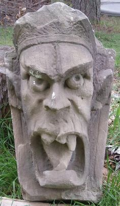 A grotesque. Grotesques are simply there as decoration, and serve no other purpose.