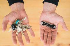 Esqueça aquele monte de chaves que atrapalham na hora de abrir a porta da sua casa. Essa pequena peça pode organizar tudo de um jeito que parece até mágica!