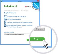 Babylon 10 Translation Software and Dictionary Tool