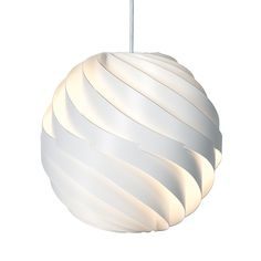 The GUBI Turbo Pendant is a modern pendant lamp. The lamp is offered in two different sizes. Louis Weisdorf designed it in in the year Small Pendant Lights, Pendant Lighting, Pendant Lamps, Pendants, Room Lights, Ceiling Lights, Lampe Gras, Lampe Applique, Suspension Design