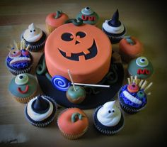 Les vampires cup cake comestible scène toppers anniversaire stand up