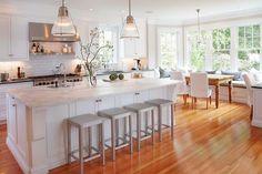 Decor: cozinha branca