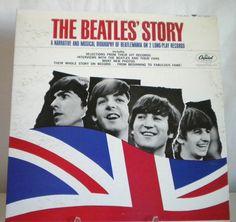 The Beatles Story '64 Capitol TBO 2222 Mono 2LPs Narrative & Music #BritishInvasion