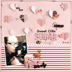 Paper Issues: Product Spotlight: Pebbles My Funny Valentine @thatgirlbecky