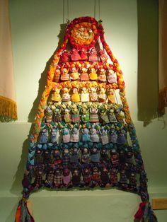 (99) Одноклассники Fabric Dolls, Fabric Art, Countdown Calendar, Gingerbread, Macrame, Doll Clothes, Russia, Clay, Magic
