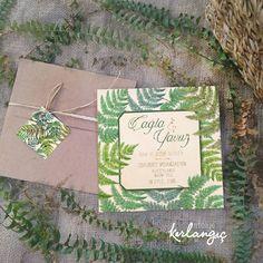 Çağla ve Yavuz'un yeşiller içinde aşk merdiveni dünyası ile iyi akşamlar diliyoruz #davetiye#wedding#tasarım#atolyekirlangic#invitation#card#kina#weddingcard#dugun#davetiyeler#gelin#nisan#vintage#nikah#dugundavetiyesi