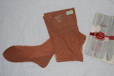 1950s Holeproof Cuban Heel Seamed Stockings