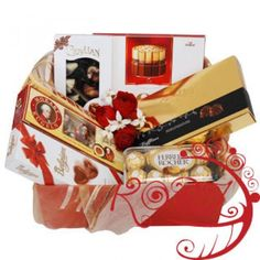Send Sweets For the Sweet Basket to Albania, the gift includes: - Assortment of 3 boxes of chocolates (from Merci, Mozart or similar gourmet chocolate); - 3 chocolate bars of premium chocolate brands; Flowers Uk, Flowers For Sale, Best Birthday Gifts, Birthday Gifts For Girls, Gift Baskets Uk, Discount Flowers, Buy Flowers Online, Bouquet Delivery, Florist Supplies