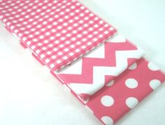 Double Flannel Baby Burp Cloths Riley Blake by BebeChicBoutique, $18.00