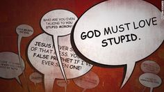 Holy Trollers: How to argue about religion online  By John Blake, CNN  Amazing that a christian is calling out other christians for their arrogance and general vitriolic commenting habits.