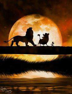 ♥ Disney Silhouetten ♥ …