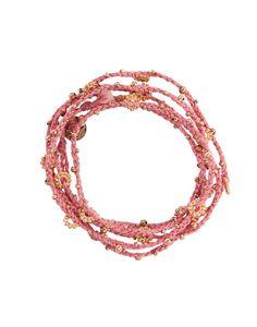 Wrap Bracelet - Pink & Rose Gold {The Little Market}