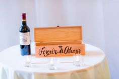 Vows cardholder. Forever & Always. Wedding Ceremony. Alden Castle.   Michele Conde Photography // http://micheleconde.com/