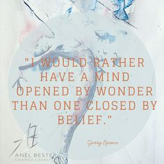 Isn't it sad how often we limit ourselves by our beliefs?  Our beliefs of what is and what is not possible.  As if it is the only truth.  Personally I'm done with believing limitations.  Instead I'm opening myself up to be amazed.  Come on Universe, show me what you've got ;-)  Anyone else?