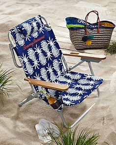 Tommy Bahama - Pineapple Deluxe Backpack Beach Chair This chair got GREAT reviews! Lots of good stuff!