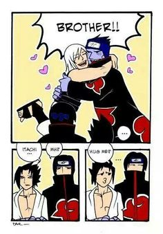 Lol wat. Suigetsu and Kisame aren't brothers..