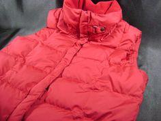 Eddie Bauer Womens EB700 Goose Down Puffer Vest Rose Pink 700 Fill size L #EddieBauer #PufferVest