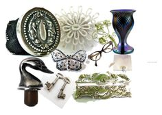 """""""Shine With EPSTeam"""" by avintagestore ❤ liked on Polyvore featuring interior, interiors, interior design, home, home decor, interior decorating and Trifari"""