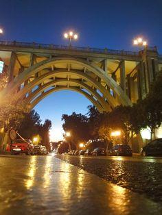 viaducto visto desde la calle de segovia
