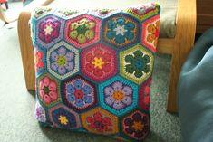 African+Flower+Hexagon+Pattern+Free | Re: Allgemeine Strick - und Häkelanleitungen