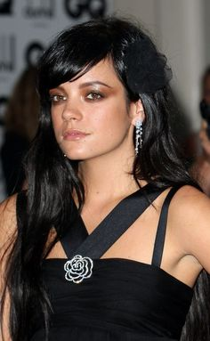 lily allen amazing hair and makeup
