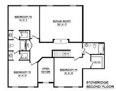 Schumacher Homes: Floorplans - Stoneridge Series