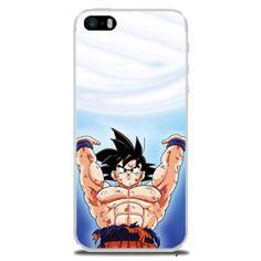 Coque étui téléphone Rigide Dragon Ball Pour iPhone 7 Plus Diy Goku
