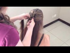 In this tutorial you will learn how to create the marvelous dutch infinity braid. This braid is absolutely beautiful and creates a great look. Infinity Braid, Girl Hair Dos, Braided Hairstyles Updo, Little Girl Hairstyles, French Braid, Braid Styles, Hair Designs, Hair Goals, Braids