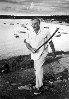Ernest Hemingway (© Alfred Eisenstaedt)