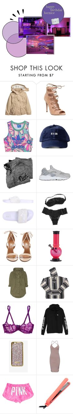 """""""surprise baby """" by yung-metr0 ❤ liked on Polyvore featuring Old Navy, Office, adidas Originals, Victoria's Secret, NIKE, Puma, Cosabella, Aquazzura, Current/Elliott and American Apparel"""