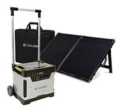 Goal Zero Yeti 1250 with Boulder 100 Watt Briefcase Solar Panel Kit - Best Solar Generators Solar Panel Kits, Solar Energy Panels, Solar Panels For Home, Best Solar Panels, Solar Roof Tiles, Solar Generator, Solar Panel Installation, Thing 1, Solar Charger