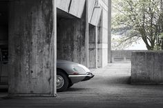 Deity : The Citroen DS Story by Counterpoint.  'There are other cars, then there is the DS.' Concept, design & art directin by Counterpoint. Location and studio photography by Oli Tennent.  #design #photography #automotive #brutalism