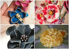 Spring is here and flowers are blooming, but you can make your own with 25+ Easy Fabric Flower Patterns!