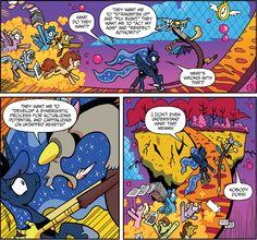 #975816 - discord, idw, princess luna, safe, spoiler:comic - Derpibooru - My Little Pony: Friendship is Magic Imageboard