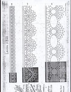 500 PLANTILLAS DE BOLILLOS - Patri Cru - Picasa Web Album Romanian Lace, Bobbin Lacemaking, Lace Painting, Bobbin Lace Patterns, Point Lace, Heirloom Sewing, Lace Making, String Art, Tatting