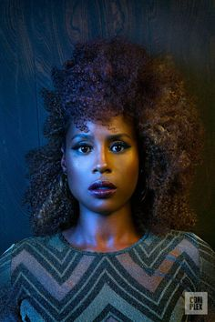 Issa Rae is serving up mogul realness and with the anticipation of the second season of Insecure approaches. The writer, director and actress sat down with Complex to discuss her upcoming accomplishments. Issa Rae isn't just your Kelly Rowland, New Hair, Your Hair, Black Power, Black Girls Rock, Black Girl Magic, Curly Hair Styles, Natural Hair Styles, Issa Rae