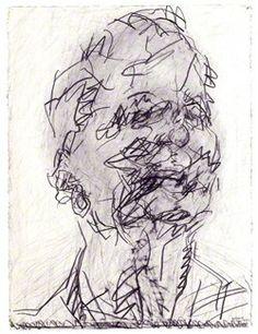 Frank Auerbach by Frank Auerbach (NPG 6611)