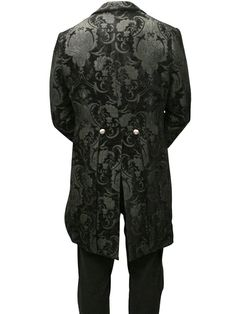 steampunk wear for men | Fashion Full Length Steampunk Swallowtail Costume for Men-in Costumes ...