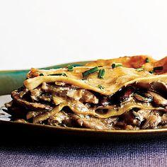 Lasagne aux champignons - Recettes, Idées de repas, Recettes santé et le Guide alimentaire